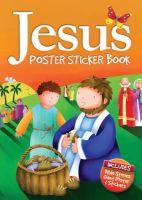 David, Juliet - Jesus Poster Sticker Book - 9781859858943 - V9781859858943