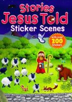 David, Juliet - Stories Jesus Told Sticker Scenes - 9781859859476 - V9781859859476