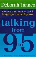 Tannen, Deborah - Talking from 9-5 - 9781860492006 - KRD0000103