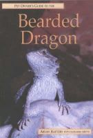 Aidan Raftery - Pet Owner's Guide to the Bearded Dragon - 9781860541292 - KOC0022338
