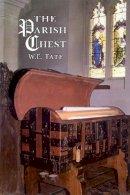 Tate, W E - The Parish Chest - 9781860776113 - 9781860776113