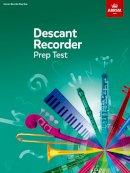 ABRSM - Recorder Prep Test - 9781860962370 - V9781860962370