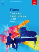 ABRSM - Piano Specimen Sight-Reading Tests, Grade 3 (Abrsm Sight-reading) - 9781860969072 - V9781860969072