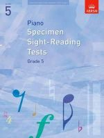 ABRSM - Piano Specimen Sight-Reading Tests, Grade 5 (Abrsm Sight-reading) - 9781860969096 - V9781860969096