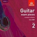 ABRSM - Guitar Exam Pieces, Complete Syllabus from 2009, Grade 2: Grade 2 (Abrsm Exam Pieces) - 9781860969515 - V9781860969515