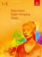 ABRSM - Specimen Sight-singing Tests, Grades 1-5 (Abrsm Sight-reading) - 9781860969584 - V9781860969584