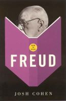 Cohen, Josh - How to Read Freud - 9781862077638 - V9781862077638