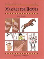 - Massage for Horses - 9781872082875 - KRA0003277