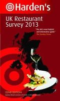 Richard Harden, Peter Harden - Harden's UK Restaurant Survey 2013 - 9781873721995 - KRF0028001