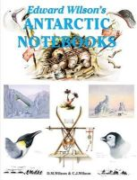 Wilson, David M.; Wilson, Christopher - Edward Wilson's Antarctic Notebooks - 9781874192510 - V9781874192510