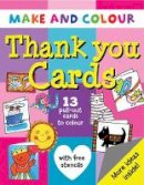 Clare Beaton - Make and Colour Thank You Cards - 9781874735793 - KSG0015443