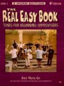Michael Zisman - The Real Easy Book: Tunes for Beginning Improvisers Level 1 (Eb Version) - 9781883217198 - V9781883217198