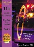 Daughtrey Susan, J. - 11+ Verbal Reasoning Test Papers: Multiple Choice Version - 9781898696889 - V9781898696889
