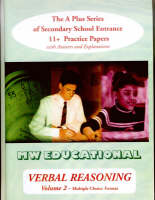 Chatterton, Mark - Verbal Reasoning: Multiple Choice Format v.2: The A Plus Series of Secondary School Entrance 11+ Practice Papers (Vol 2) - 9781901146646 - V9781901146646
