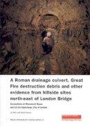 Blair, Ian; Sankey, David - Roman Drainage Culvert, Great Fire Destruction Debris and Other Evidence from Hillside Sites North-East of London Bridge - 9781901992694 - V9781901992694
