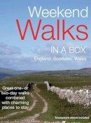 Woodford, Adrian - Weekend Walk & Stay (In a Box 8) - 9781903301647 - V9781903301647