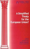Feus, Kim, Bond, Dr. Martyn - A Simplified Treaty - 9781903403037 - V9781903403037