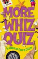 National Parents Council - Cork West Branch - More Whiz Quiz: For Children and Grown Up Children - 9781905172504 - KLJ0006757