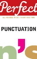 Curtis, Stephen - Perfect Punctuation - 9781905211685 - KSS0000140