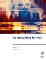 Cox, David; Fardon, Michael - A2 Accounting for AQA - 9781905777174 - V9781905777174