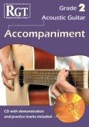 Skinner, Tony - Acoustic Guitar Accompaniment RGT Grade Two - 9781905908424 - V9781905908424