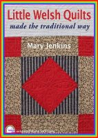 Jenkins, Mary - Little Welsh Quilts - 9781906314187 - V9781906314187