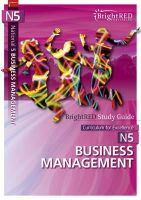 William Reynolds - BrightRED Study Guide: National 5 Business Management - 9781906736330 - V9781906736330