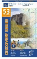 Ordnance Survey Ireland - Discovery Map 53 Clare Galway Offaly (Discovery Maps) - 9781907122569 - KSS0005757