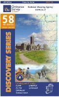 Ordnance Survey Ireland - Dis 58 Clare Limerick Tipperary - 9781907122903 - KSS0005759