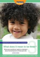 Lindon, Jennie - What Does It Mean To Be Three? - 9781907241406 - V9781907241406