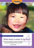 Lindon, Jennie - What Does It Mean To Be Four? - 9781907241413 - V9781907241413