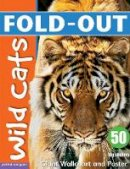 Zwemmer, Dominic - Fold-Out Wild Cats Sticker Book - 9781907604485 - V9781907604485
