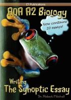 Mitchell, Robert - AQA A2 Biology: Writing the Synoptic Essay - 9781907769009 - V9781907769009