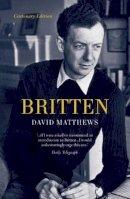 Matthews, David - Britten - 9781908323385 - V9781908323385