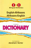 Venter, A. - English-Afrikaans & Afrikaans-English One-to-One Dictionary - 9781908357229 - V9781908357229