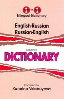K. Volobuyeva - English-Russian & Russian-English One-to-One Dictionary - 9781908357618 - V9781908357618