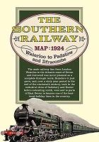 Geoffrey Kichenside - Southern Railway Route Map (Old House) - 9781908402042 - 9781908402042