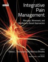 Thompson, Diana, Brooks, Marissa - Integrative Pain Management - 9781909141261 - V9781909141261