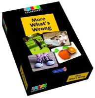 Speechmark Publishing Limited - More What's Wrong (Colorcards) - 9781909301283 - V9781909301283