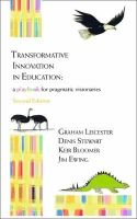 Leicester, Graham, Stewart, Denis, Bloomer, Keir - Transformative Innovation in Education: A Playbook for Pragmatic Visionaries - 9781909470101 - V9781909470101