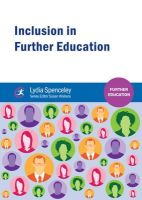 Spenceley, Lydia - Inclusion in Further Education - 9781909682054 - V9781909682054