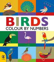 Hutchinson, Sam - Birds (Colour by Numbers) - 9781909767812 - V9781909767812