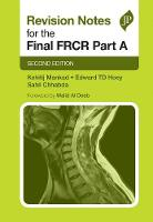 Mankad, Kshitij - Revision Notes for the Final Frcr Part a (Postgrad Exams) - 9781909836532 - V9781909836532