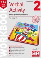 Curran, Stephen C., Draper, Christine R. - 11+ Verbal Activity Year 3/4 Workbook 2: Verbal Reasoning Technique - 9781910107843 - V9781910107843