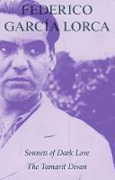 Lorca, Federico García - Sonnets of Dark Love - 9781910392140 - V9781910392140
