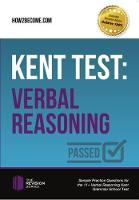 Shepherd, Marilyn - Kent Test: Verbal Reasoning - Guidance and Sample Questions and Answers for the 11+ Verbal Reasoning Kent Test (The Revision Series) - 9781910602379 - V9781910602379