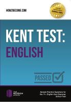 Shepherd, Marilyn - Kent Test: English - Guidance and Sample Questions and Answers for the 11+ English Kent Test (The Revision Series) - 9781910602386 - V9781910602386