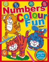 Mark Mechan - Numbers Colour Fun: Book 1 (Learn as You Colour) - 9781910965412 - V9781910965412