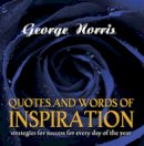 Norris, George D. - Quotes and Words of Inspiration - 9781921596452 - V9781921596452