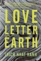 Hanh, Thich Nhat - Love Letter to the Earth - 9781937006389 - V9781937006389